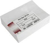 "White - Leader A7 Envelopes (5.25""X7.25"") 100/Pkg"
