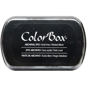 Wicked Black - ColorBox Archival Dye Full Size Ink Pad