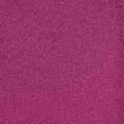 "Raspberry - American Crafts Glitter Cardstock 12""X12"""