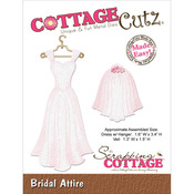 Bridal Attire Die - CottageCutz