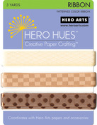 Earth - Hero Hues Ribbon 1yd 3/Pkg