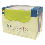 "Bright Solids 40/Pkg - DCWV Box Of A2 Cards & Envelopes (4.375""X5.625"")"
