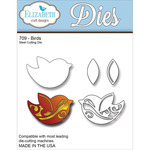 Birds Metal Die - Elizabeth Craft Designs