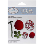 Rose Metal Die - Elizabeth Craft Designs