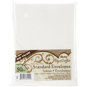 "Ivory - Smooth A7 Envelopes (5.25""X7.25"") 50/Pkg"