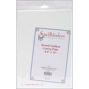 "Spellbinders Grand Calibur Cutting Plate 8.5""X12""-"