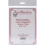 "Raspberry - Spellbinders Grand Calibur Junior Spacer Plate 8.5""X6"""