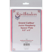 "Raspberry - Spellbinders Grand Calibur Junior Spacer Plate 8.5""X6"""