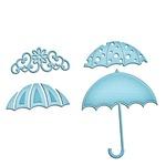 Umbrella Trio Shapeabilities In'spire Die - Spellbinders