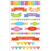 Birthday Banners - Mrs. Grossman's Stickers