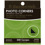 Black - Photo Corners Boxed 250/Pkg