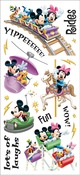 Amusement Park Rides - Disney Stickers/Borders Packaged