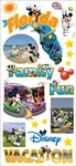 Mickey States Florida - Disney Stickers/Borders Packaged
