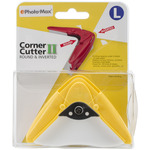Yellow Corner Rounder Cutter Punch