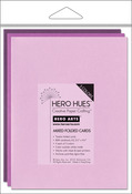 "Floral Mix - Hero Arts A2 Cards (4.25""X5.5"") 12/Pkg"