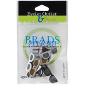 Dark Sunglasses Shape Brads - Eyelet Outlet
