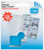 Carl Personal Paper Trimmer Replacement Blades 4/Pkg - Straight; For RBT12 & RBT