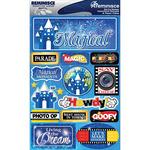 "Magical - Signature Dimensional Stickers 4.5""X6"" Sheet"