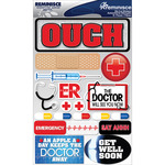 """Doctor - Signature Dimensional Stickers 4.5""""X6"""" Sheet"""