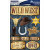 """Western - Signature Dimensional Stickers 4.5""""X6"""" Sheet"""
