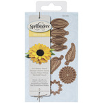 Create A Sunflower - Spellbinders Shapeabilities Die D-Lites