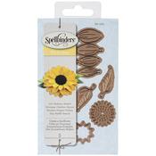 Create A Sunflower - Spellbinders Shapeabilities Die D-Lites