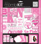 """Pretty In Pink - Page Kit 12""""X12"""""""