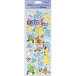 Baby Boy - Glitter Activity Stickers