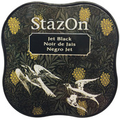Jet Black - StazOn Midi Ink Pad