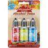 Adirondack Brights Alcohol Ink .5oz 3/Pkg - Dockside Picnic - Watermln/Citrus/Sa