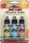 Lakeshore-Sandal/Aqua/Salmon - Adirondack Lights Alcohol Ink .5oz 3/Pkg