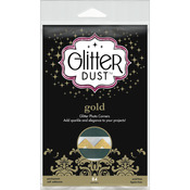 Gold - Glitter Dust Photo Corners 84/Pkg