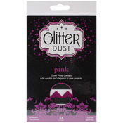 Pink - Glitter Dust Photo Corners 84/Pkg