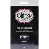 Black - Glitter Dust Photo Corners 84/Pkg