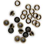 Brass 60/Pkg - Eyelets & Washers Standard