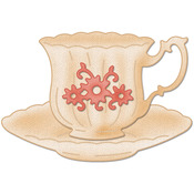 Small Teacup Made Easy Die - CottageCutz