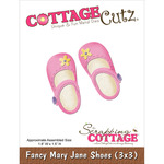 Fancy Mary Jane Shoes Die - CottageCutz