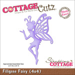 Filigree Fairy Made Easy With Foam Die - CottageCutz