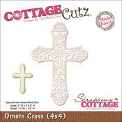 Ornate Cross Made Easy Die - CottageCutz