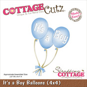 It's A Boy Balloons Die - CottageCutz