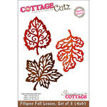 3 Filigree Fall Leaves Made Easy - CottageCutz Die