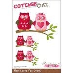 Hoot Loves You Die With Foam - CottageCutz