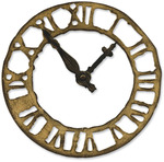 Weathered Clock Bigz Die By Tim Holtz - Sizzix