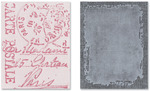 Distressed Frame & Postal Embossing Folders - Sizzix Texture Fades