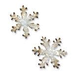 Mini Snowflakes Movers & Shapers Magnetic Dies By Tim Holtz - Sizzix