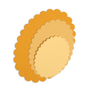Scallop Ovals Framelits Dies - Sizzix