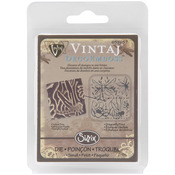 Dragonfly Pond DecoEmboss Die By Vintaj - Sizzix