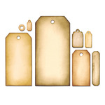 Tag Collection Framelits Dies By Tim Holtz - Sizzix