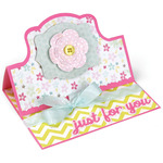 Royal Stand - Ups Card Framelits Dies - Sizzix