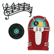 Juke Box & Music Thinlits Dies - Sizzix